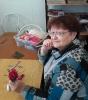 Екатерина Александровна Лекомцева, участница мастер-класса по изготовлению цветов из бумаги в Библиотеке № 2 поселка Воронцовка