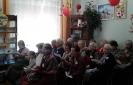 Участники встречи клуба общения «На огонёк» в Библиотеке № 8