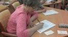 Участница Тотального диктанта - 2019 в Центральной городской библиотеке