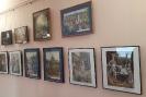 Выставка дипломных работ выпускников детской художественной школы в Центральной городской библиотеке