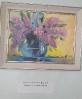 Выставка картин Кустовой Софьи в Библиотеке № 2 поселка Воронцовка. «Сирень» (холст, масло). 2019 год.