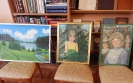 Выставка картин карпинского поэта Александра Никишина