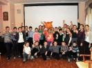 Участники благотворительной акции по сбору книг для особенных детей «Подари книгу» в рамках проекта «Театральный десант»