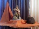Скульптура «Теркин на привале»