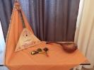 Русские народные инструменты: домра, балалайка