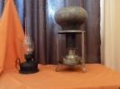 Керосиновая лампа, примус с чугунком