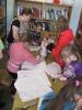 Творческое занятие по шитью в рамках проекта «Библиотечный ШУМ»