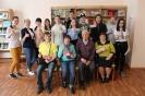 Участники и организвторы интеллектуальной игры «Библиогений»