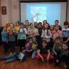 Участники литературной программы «Путешествие по Лукоморью» в Центральной городской библиотеке