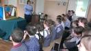 Воспитанники школы-интерната с интересом слушали стихи и сказки детских писателей, которые для них чители сотрудники Центральной детской библиотеки