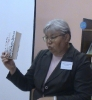Библиотекарь Любовь Васькина провела для школьников видеобеседу «Мы – против террора»