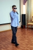 Дебютант музыкально-поэтического квартирника рэп-исполнитель Александр Захаренко