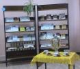 Книжная выставка «Мы за чаем не скучаем» для участников литературно-музыкального вечера