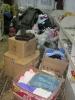 Вещи для малообеспеченных жителей поселка Рудничный, собранные в ходе благотворительной акции «Помоги ближнему» в Библиотеке № 9 (2017 г.)