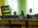 Новинки фантастической и детской литературы от книжного магазина «Живое слово» (г. Серов) в фойе Центральной городской  библиотеки