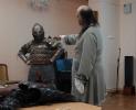 Ролевики Клуба экспериментальной истории «Орден почёта» продемонстрировали костюмы и атрибуты для ролевых образов