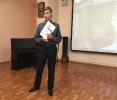 Участник творческого проекта «Пиши! Читай!» Вячеслав Казаков