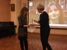 Награждение участницы творческого проекта «Пиши! Читай!» Наталии Мусатовой
