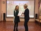 Награждение участницы творческого проекта «Пиши! Читай!» Олеси Эйхман