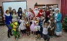 Участники новогодней встречи клуба «Радостное чтение» в Центральной детской библиотеке