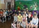 Учащиеся коррекционной школы № 6 на мероприятии детской библиотеки «Чудеса бажовских сказов»