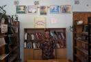 Софья Николаевна Кустова и выставка ее картин в Библиотеке № 2 посёлка Воронцовка