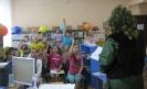 Участники познавательно-развлекательной программы «В гостях у Бабы Яги» активно отвечали на вопросы викторины