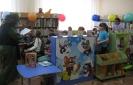 Участники познавательно-развлекательной программы «В гостях у Бабы Яги» с удовольствием отгадывали загадки