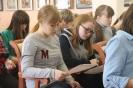 Участники Тотального диктанта – 2019 на подведении итогов в Центральной городской библиотеке