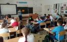 Учащиеся школы № 23 приняли участие в акции «Читаем детям о войне»