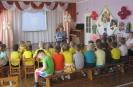 Воспитанники детского сада № 42 приняли участие в акции «Читаем детям о войне», подготовленной для них библиотекарями поселка Рудничный