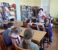 Участники акции «Читаем детям о войне» в Центральной городской библиотеке