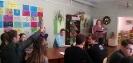 Участники интеллектуально-познавательной игры «По дорогам родного города» с интересом обсуждали задания, отвечали на вопросы