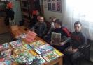 Участники Фестиваля пушкинской поэзии  в Библиотеке № 2 поселка Вороноцовка