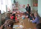 Участники литературно-игровой программы «И сказок пушкинских страницы» в Библиотеке № 9