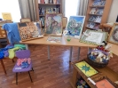 Выставка творческих работ инвалидов «Тебе, любимый город!», посвященная 75-летию г. Краснотурьинска в Центральной городской библиотеке
