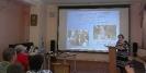 Заведующий Центральной детской библиотекой Ольга Рудковская на областном семинаре «Учреждения культуры в инклюзивном пространстве» в Центральной городской библиотеке