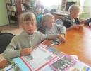 Участники краеведческой программы «Мой край родной, навек любимый» в Библиотеке № 6 поселка Чернореченск