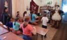 С бурундуком Бурундушей ребята станцевали задорный «танец маленьких утят»