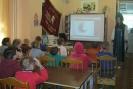 Участники познавательной программы «Сверкающие самоцветы Урала» с удовольствием выполняли задания Хозяйки Медной горы