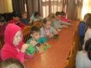 Участники мастер-класса по изготовлению малахитовой шкатулки