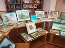 Выставка вышитых картин краснотурьинского мастера Федора Тылика в Центральной городской библиотеке