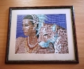 Картина «Девушка с тигром» - один из экспонатов выставки Федора Тылика
