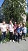 Участники уличной библиотечной квест-игры «Летние бродилки»