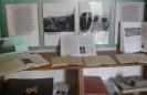 Книжная выставка «Здесь край мой, исток мой, дорога моя…», на которой представлены документы по истории старинного горняцкого поселка Ауэрбах