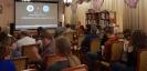 Зрители конкурсного показа короткометражных художественных фильмов специальной программы «Опа! Искусство внезапности» Фестиваля уличного кино в Центральной городской библиотеке