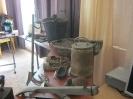 Выставка предметов шахтёрского труда и быта «Шахтерский огонек» в Библиотеке № 9 поселка Рудничный