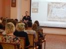 Встреча старшеклассников школы № 23 с капитаном полиции Михаилом Куштановым, посвященная Дню солидарности в борьбе с терроризмом в Центральной городской библиотеке