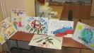 Рисунки участников мероприятия, посвященного Дню солидарности в борьбе с терроризмом