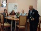 Участник встречи «Пусть не 16!» Федор Федорович Тылик в Центральной городской библиотеке